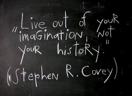 stephen-r-coveys-quote-live-out-of-your-imagination-not-your-history
